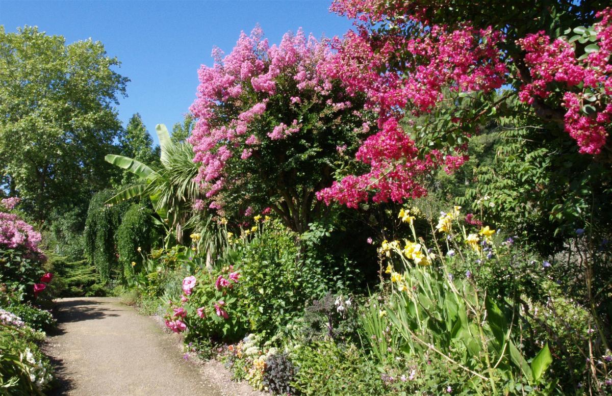 Promenade fleurie mimizan