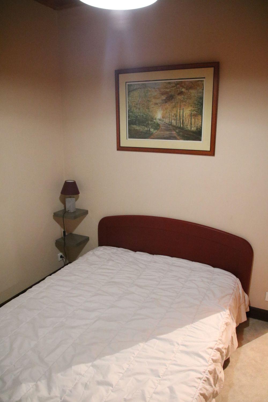 La chambre lit double