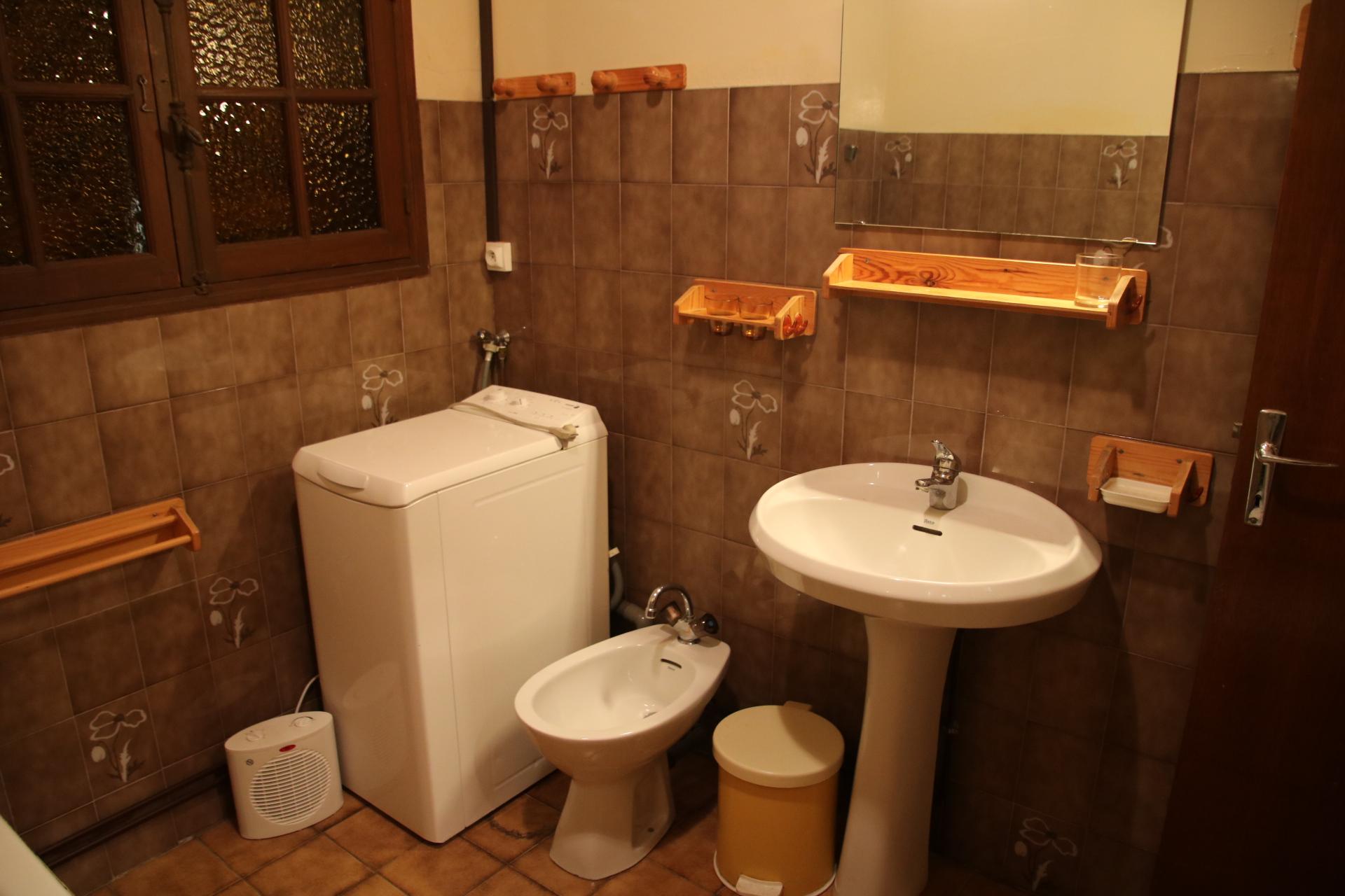 Salle de bain - Lave-linge